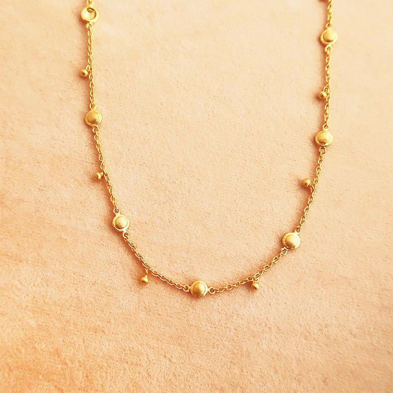 Shinti Plate  { Necklace } K18
