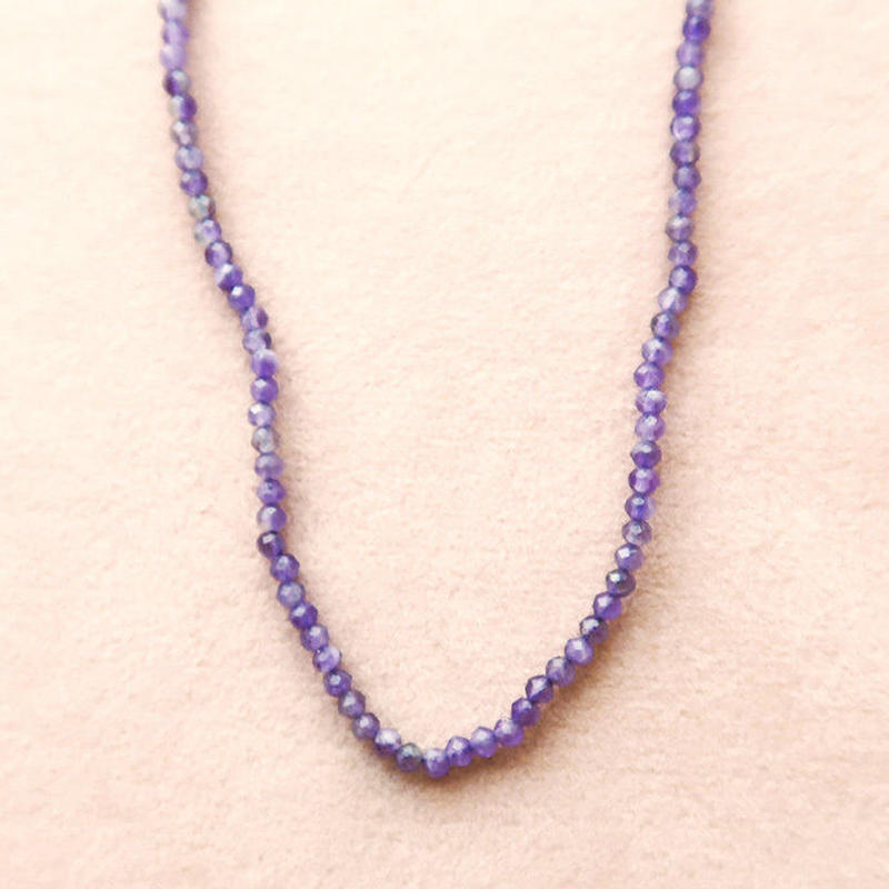 Simple Stone  { Necklace }  amethyst
