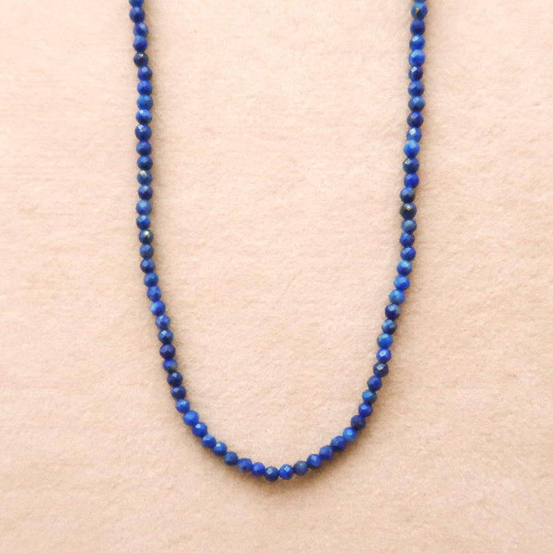 Simple Stone  { Necklace }   lapislazuli