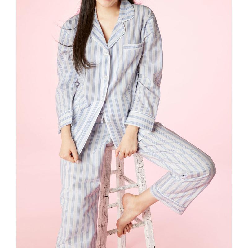 レディースパジャマ 長袖 コットン BedHead Pajamas ベッドヘッドパジャマズ Periwinkle Maypole