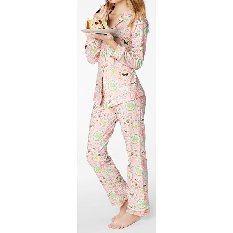 [SALE] BedHead Pajamas レディース ストレッチ パジャマ  Pink Plat Du Jour