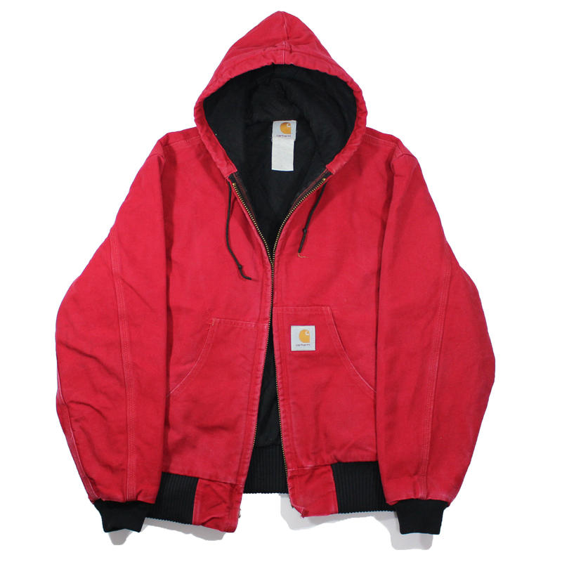 1990s Carhartt Active Parka  (Red)