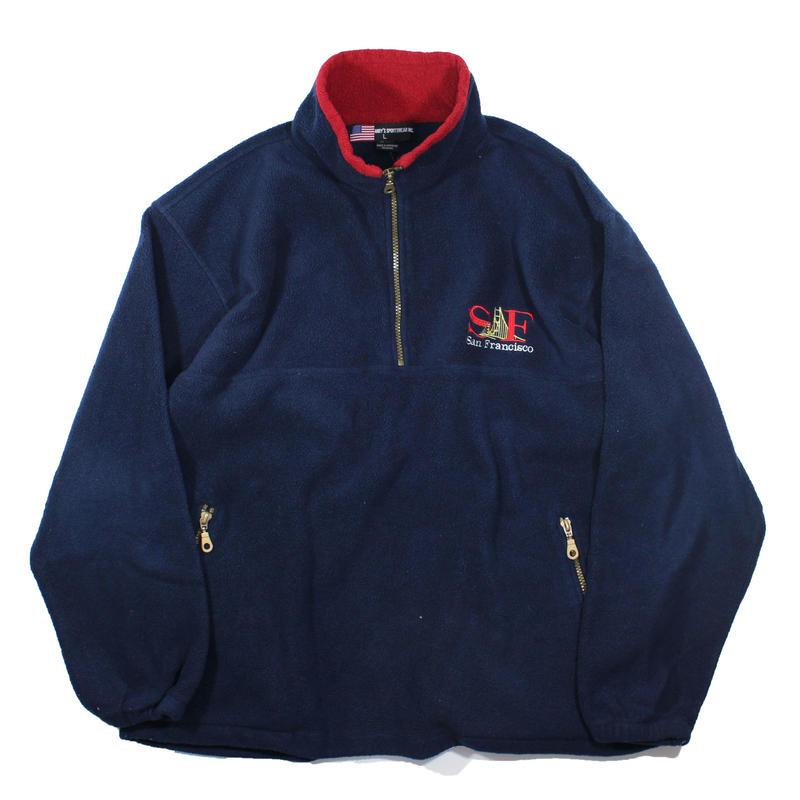 SF Pull Over Fleece Jacket