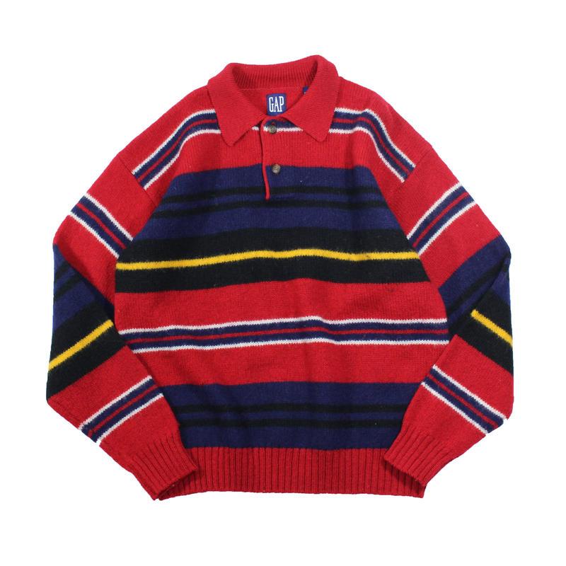 1990s GAP knit polo shirts