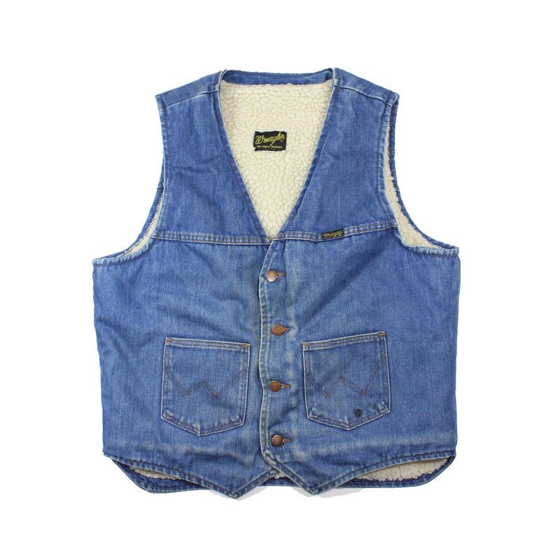 1980s Wrangler Ranch Vest