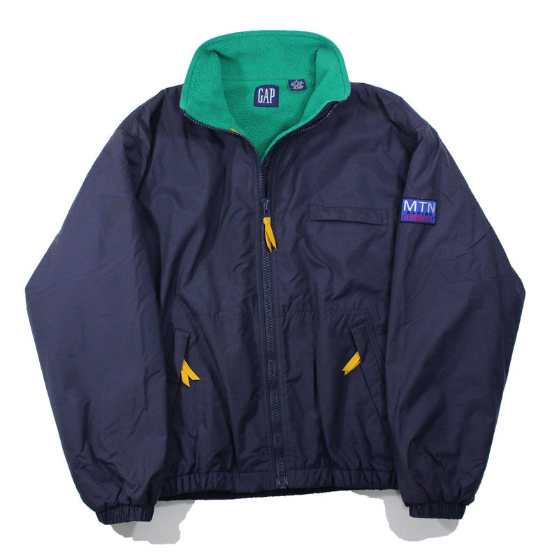 1990s Nylon Blouson Fleece Lining -ALPINE MTN COUNTRY-