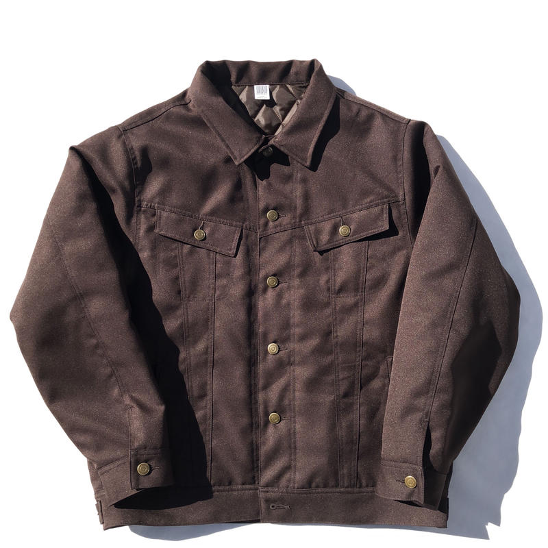 Daily Trucker Jacket - brown