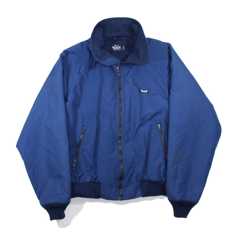 1980s Nylon Blouson w/fleece lining