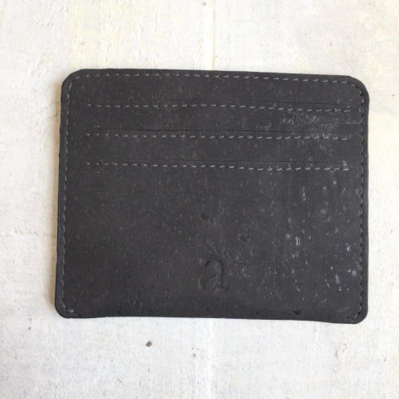 Aasha カードケース~Black~ コルク製
