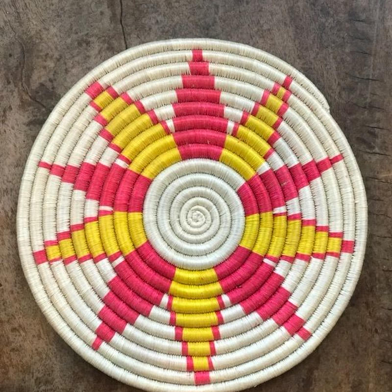 ルワンダ鍋敷き
