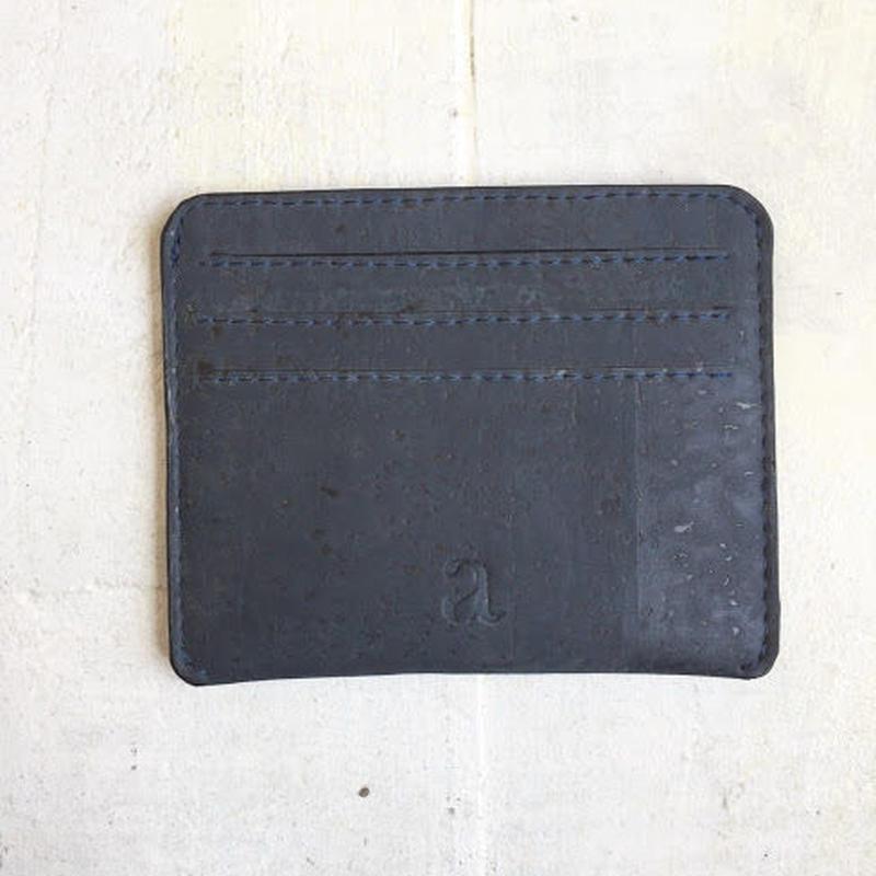 Aasha カードケース~Blue~ コルク製