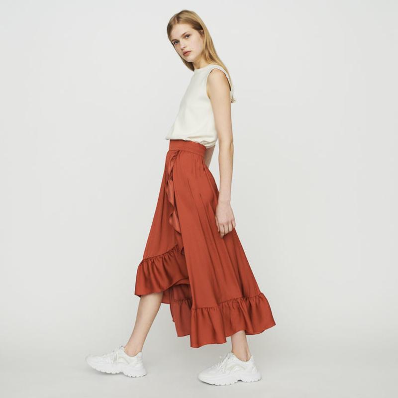 Maje マージュ Long skirt スカート 定価$295