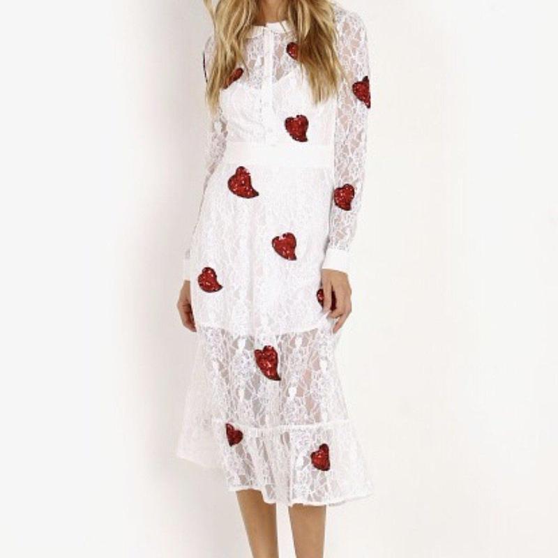 for love & lemons La Zosia Midi Dress   ワンピース