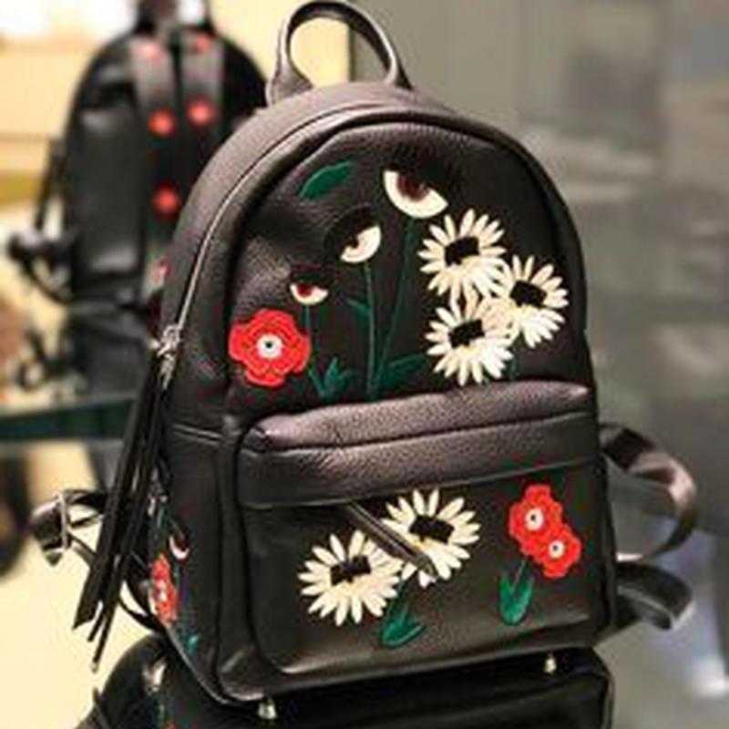 CHIARA FERRAGNI キアラフェラーニ Flowers and Daisies Flirting Backpack バッグパック 定価$686
