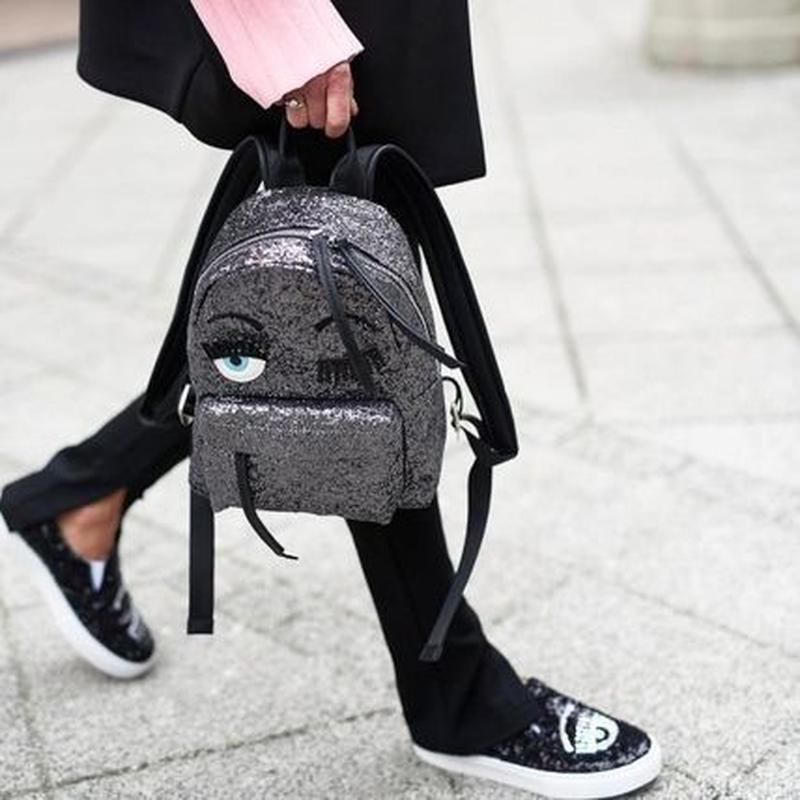 キアラフェラーニ Flirting glitter backpack バッグパック 定価$416