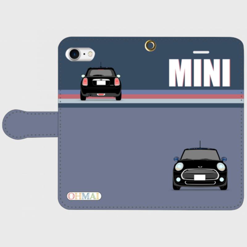 MY-MINI-8-3 手帳型スマホケース