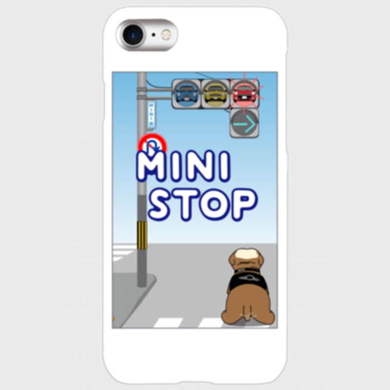 MINI-STOP スマートフォン カバー