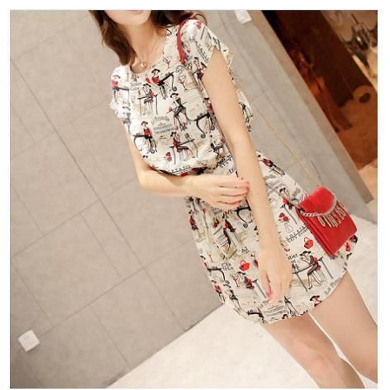 Print Summer Dress