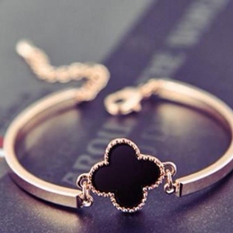 "Clover in ""Yotsuba"" Bracelet"