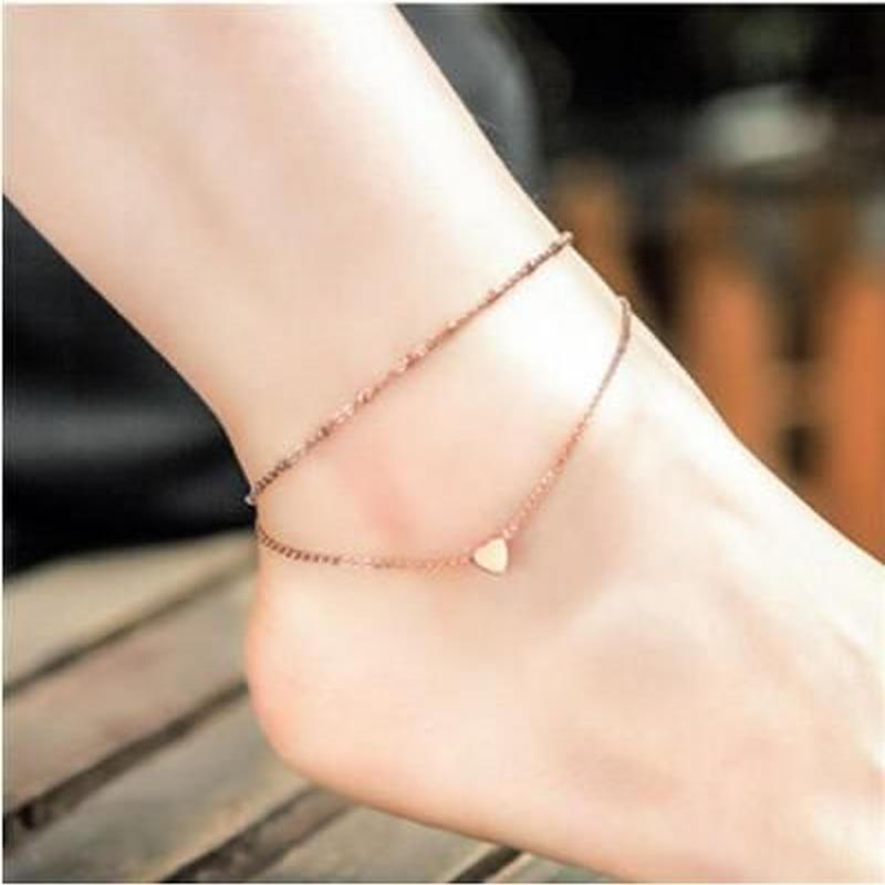 """Anklet Pendant """"Heart"""""""