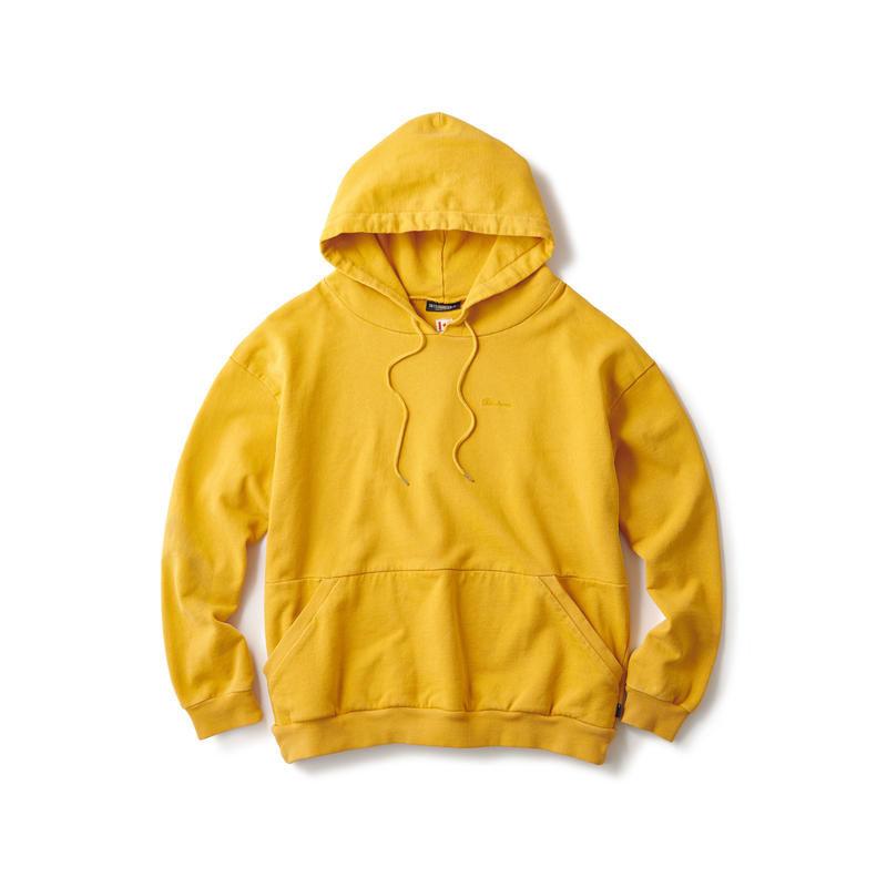 SOLID OVERDYED HOODIE
