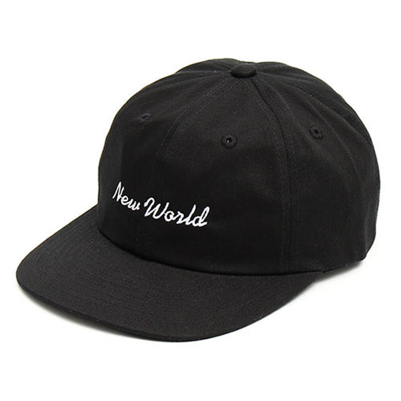 NEW WORLD FLAT BRIM CAP