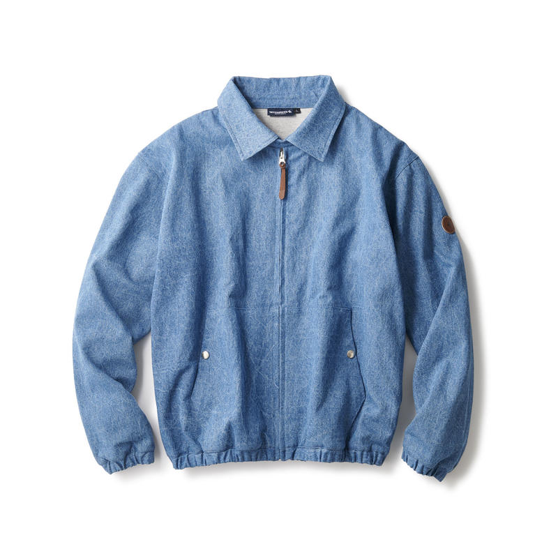 WASHED DENIM CLASSIC SWING TOP