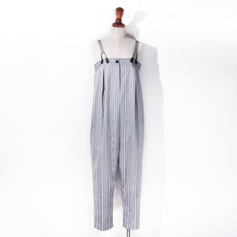 【SALE】1410-04-102 Stripe Jumpsuit