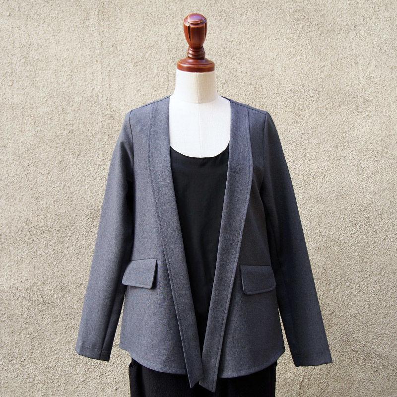 【SALE】1404-02-103 2Way Stretch Slit Jacket