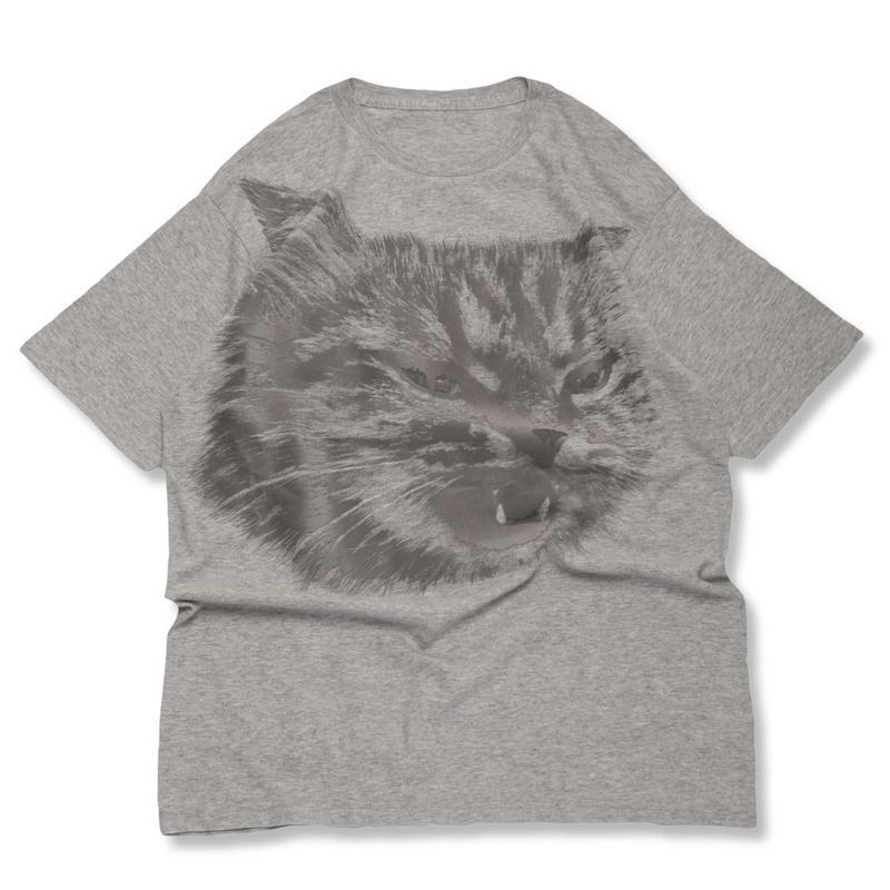 CA9SS-JE81 FLOCKY CAT BIG TEE