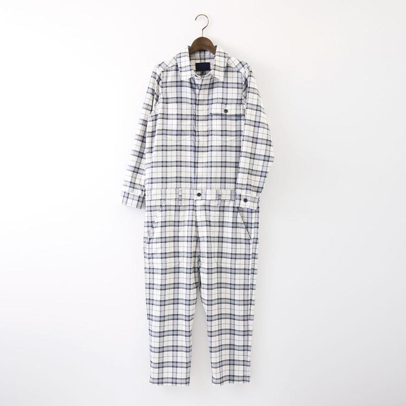 【SALE】1510-04-102 Check Boilersuit