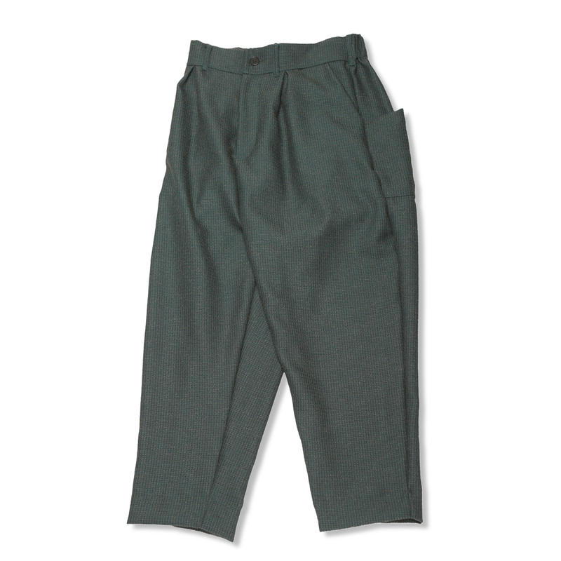 PA9SS-PT04 NEP TWEED POCKET PANTS