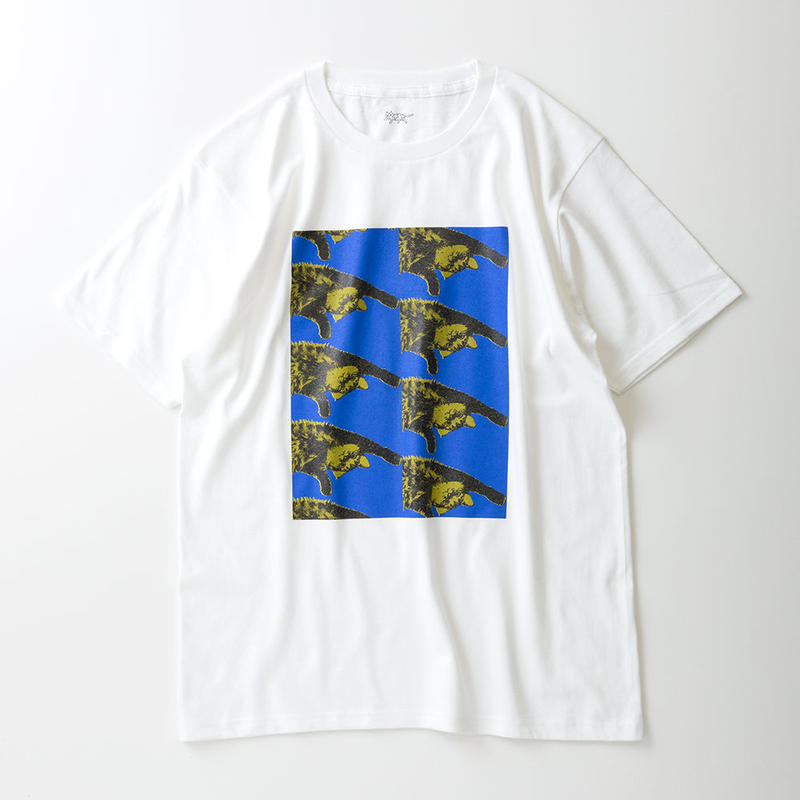 CA7AW-JE22B KATE TEE - ROLL OVER 7(BLUE&YELLOW)