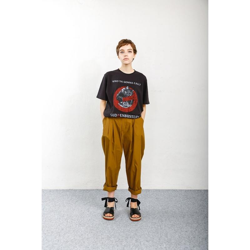 PA9SS-PT01 TYPEWRITER TUCK PANTS