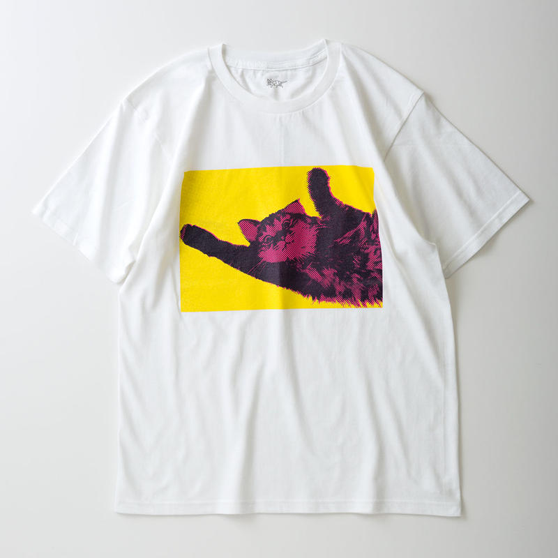CA7AW-JE21A KATE TEE - ROLL OVER 1(YELLOW&PINK)