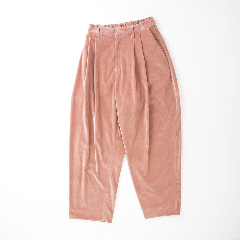 PA8SS-PT06 CORDUROY TUCK PANTS