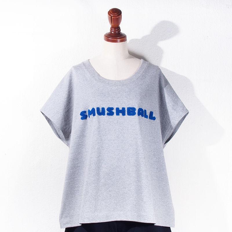 【SALE】1501-06-107 SMUSHBALL Chenille T-Shirt