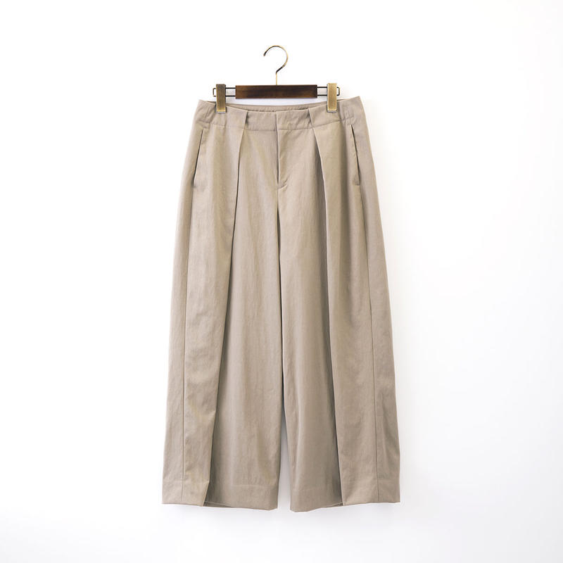 【SALE】1510-04-103 Big Tuck Wide Pants
