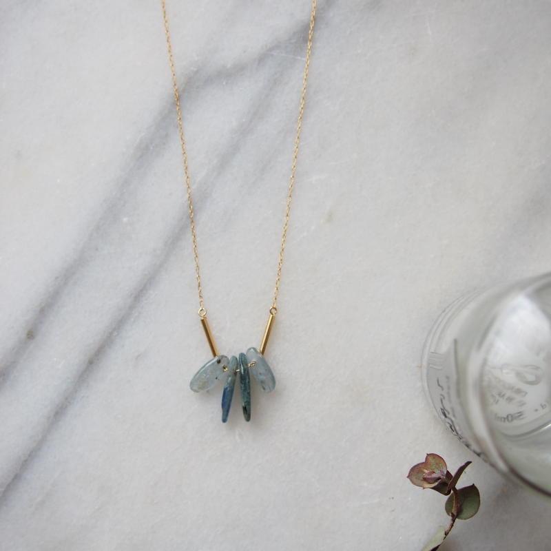 rbradorite necklace