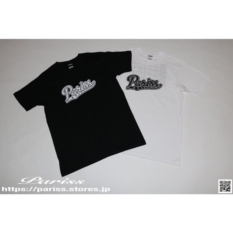 【新作】ベースボールロゴTシャツ【ブラック・ホワイト】
