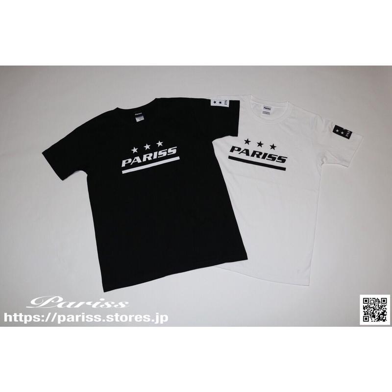 スポーティーロゴTシャツ【ブラック・ホワイト】