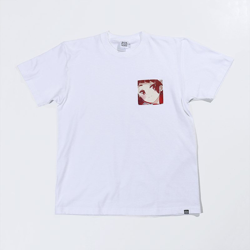 【URAHARA】プリントポケットTシャツ まり.ver