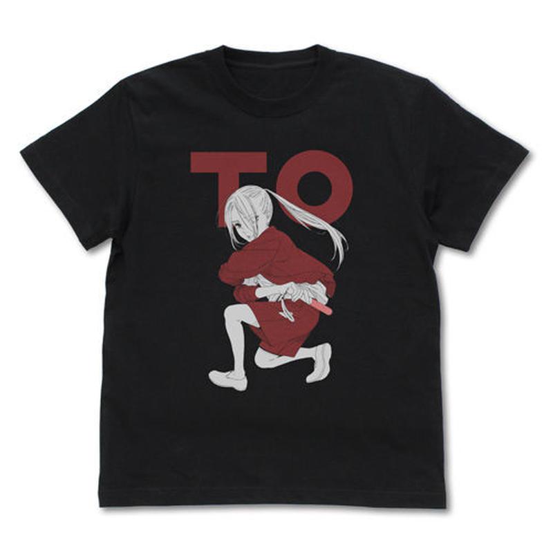 【二次元COSPA】 TO(トップオタ)・えりぴよ Tシャツ [推しが武道館いってくれたら死ぬ]