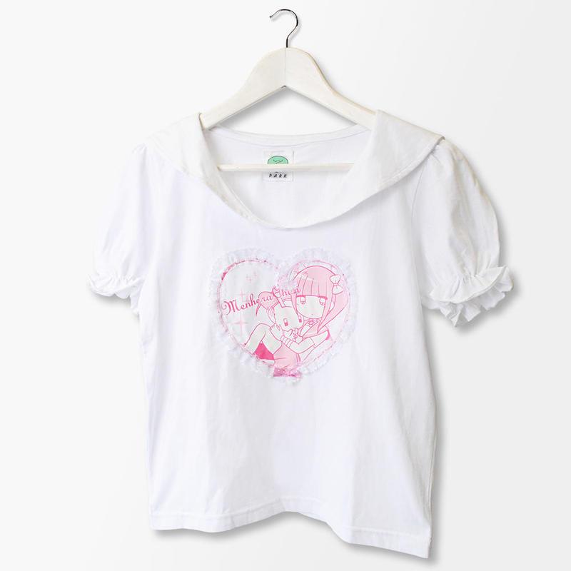 メンヘラチャン×PARK  セーラー衿Tシャツ
