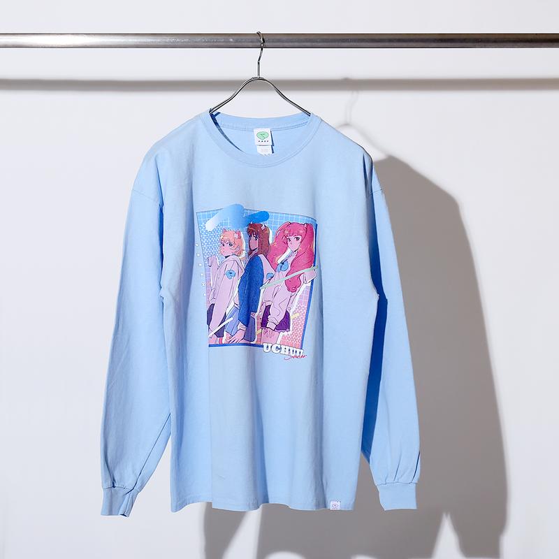 【宇宙サマー×PARK】コラボイラスト ロングスリーブTシャツ