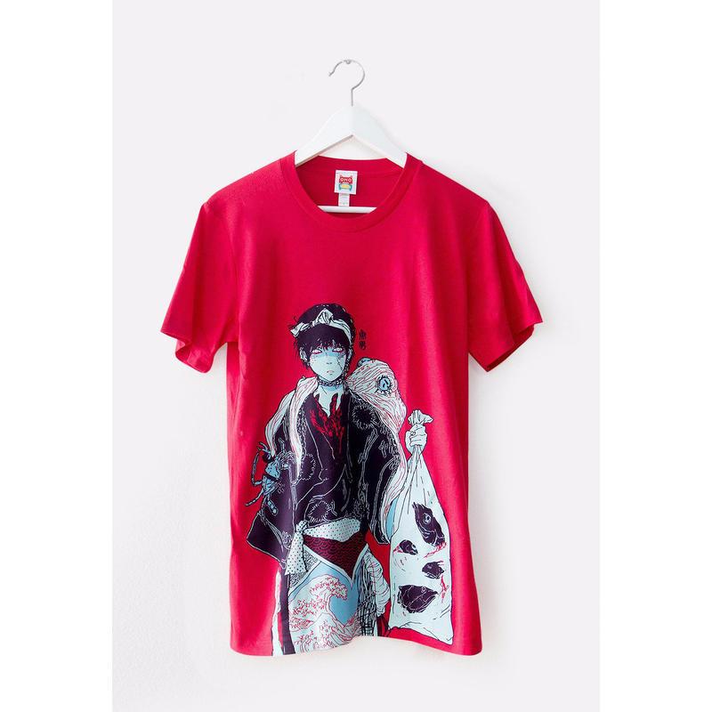 【OMOCAT】FISHBOY T-Shirt