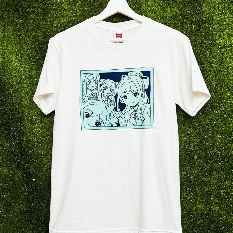 "【OMOCAT×DDLC】""GROUP PHOTO"" T-Shirt"