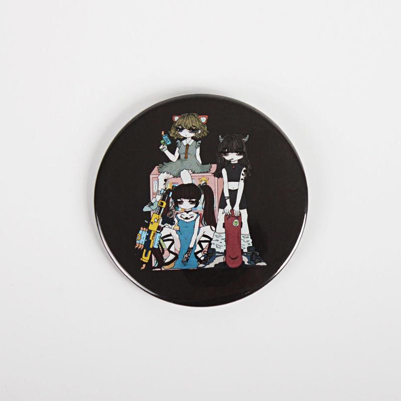 【Riho Kurokwa × PARK】闇堕ちりとことまり缶バッジ