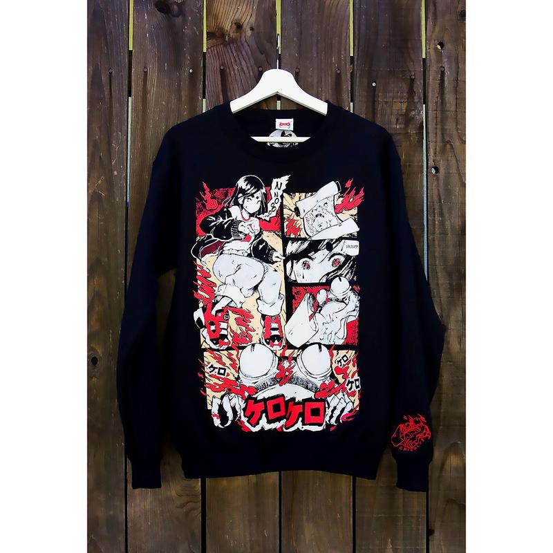【OMOCAT×CRISALYS】KERO KERO HELL Sweater