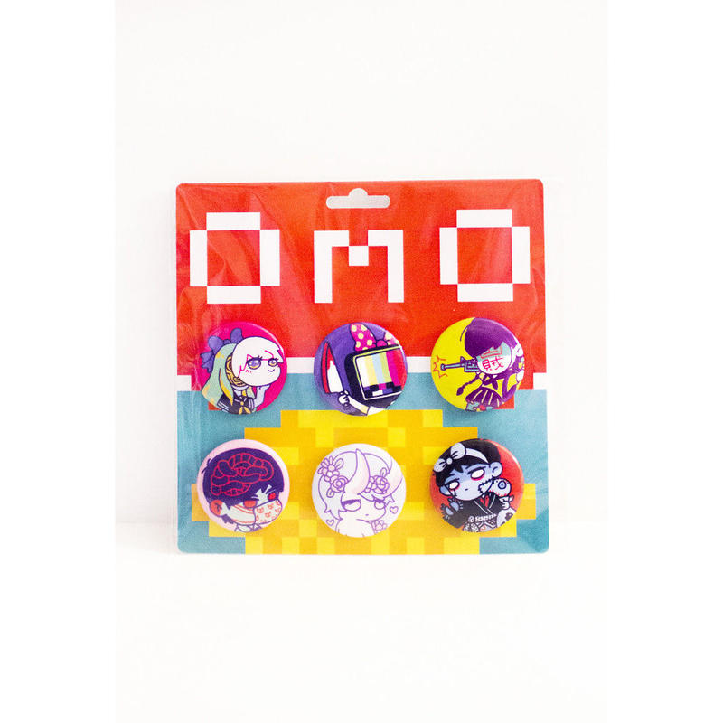 【OMOCAT】OMOCAT Pin Set